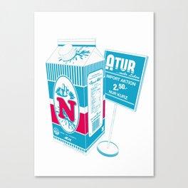 N_ature Canvas Print