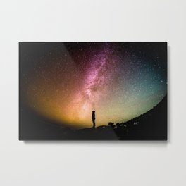 Galaxy Explorer Metal Print