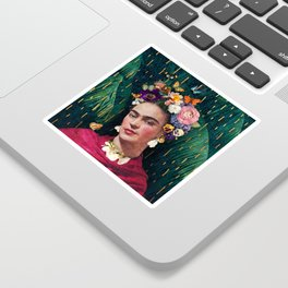 Frida Kahlo :: World Women's Day Sticker
