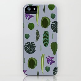 A non-scientific botanical investigation of the indoor plant. iPhone Case