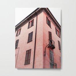 Live In Pink Metal Print