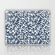 navy coral pattern Laptop & iPad Skin