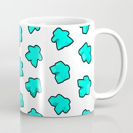 Meeple Mania Fresh Mint Coffee Mug