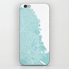 WE LOVE SF iPhone & iPod Skin