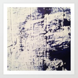 Blue Blues Art Print