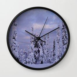 The Winter Wonderland Wall Clock