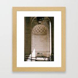Alcove New York Public Library Framed Art Print