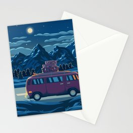 Dawn of the night. Stationery Cards