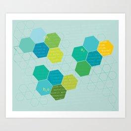 elements of design Art Print