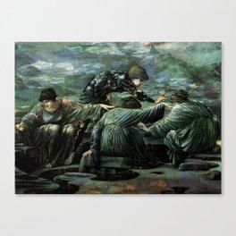 ANCIENT KNOWLEDGE 2 Canvas Print