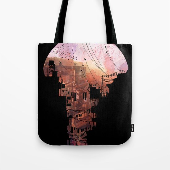 Secret Streets Tote Bag