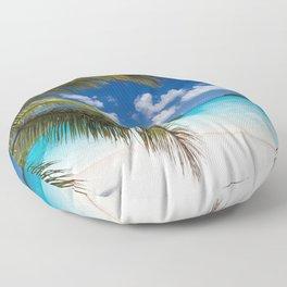 Tropical Shore Floor Pillow