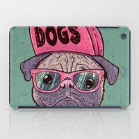 dogs iPad Cases featuring Dogs by Lime