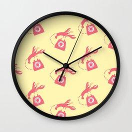 lobster telephone Wall Clock