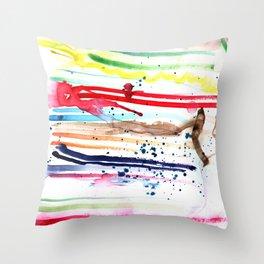 Dark Shade Throw Pillow