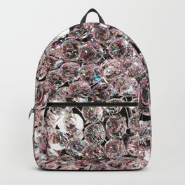 Pale Pink Crystals Backpack
