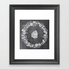 small homes Framed Art Print