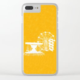 Seaside Fair in Yellow Clear iPhone Case