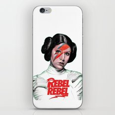 REBEL REBEL LEIA iPhone & iPod Skin