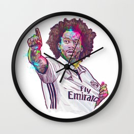 Real Madrid Marcelo Wall Clock