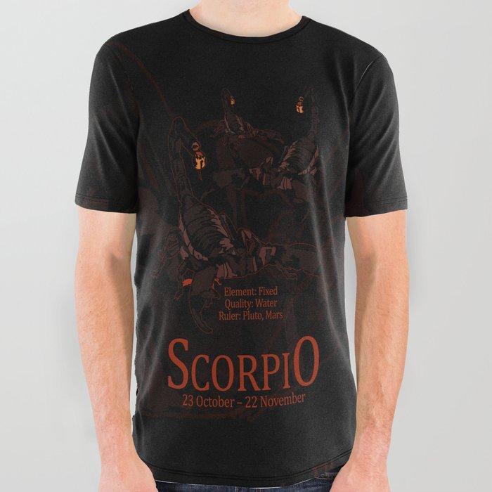 39e1cb17d Scorpio All Over Graphic Tee by adamzworld | Society6
