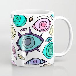 Cosmic Eyes On You Coffee Mug