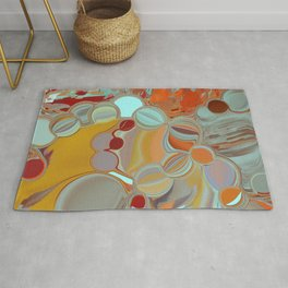 Liquid Bubbles Rug