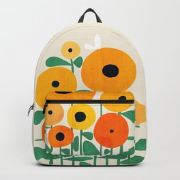 Sunflower and Bee Backpack