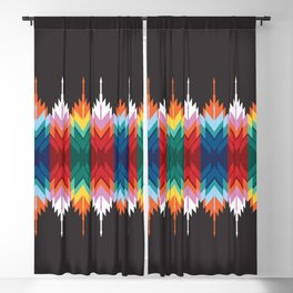 American Native Pattern No. 30 Blackout Curtain