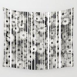 Flower Bars Wall Tapestry