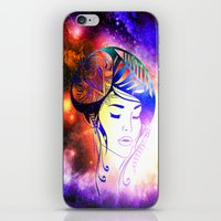 iris iPhone & iPod Skins featuring Iris  by haroulita