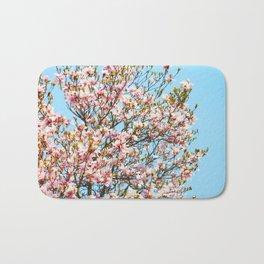 Vibrant Magnolias Bath Mat
