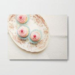 Sweet Cupcakes II Metal Print