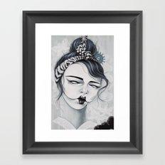 Miss Tigre Framed Art Print