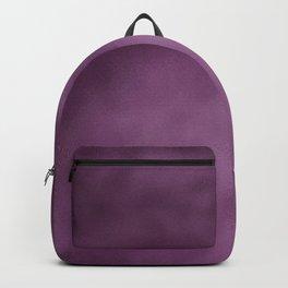 Modern abstract dark purple burgundy gradient Backpack