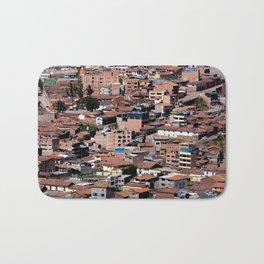 Rooftops of Peru Bath Mat
