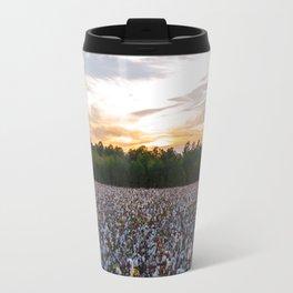 Cotton Field 11 Travel Mug