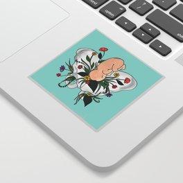 JUNGLE / birth art/ midwife/ doula Sticker