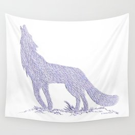 Coyote CREYES Wall Tapestry