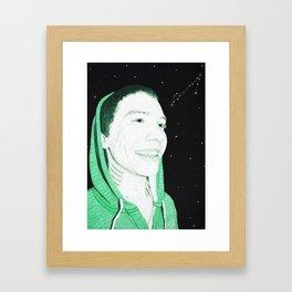 Zodiac Series: The Pisces Framed Art Print