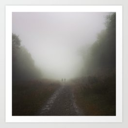 Canaan Valley Hike Art Print