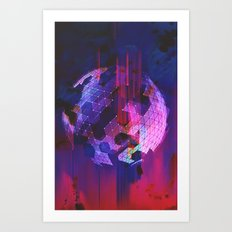 Powerful Defeat Art Print