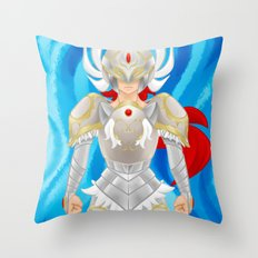 Leora of Valor Throw Pillow