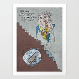 Stately, plump Buck Mulligan Art Print
