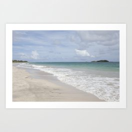 Caribbean days Art Print