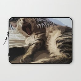 WAKING UP Laptop Sleeve