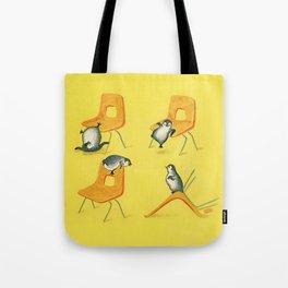 Playful Penguins Tote Bag
