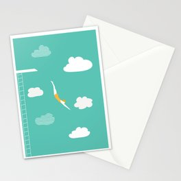High Diver Stationery Cards