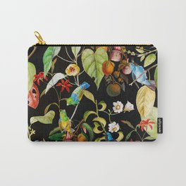 Vintage & Shabby Chic - Midnight Tropical Garden Carry-All Pouch