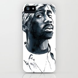 2 pac iPhone Case